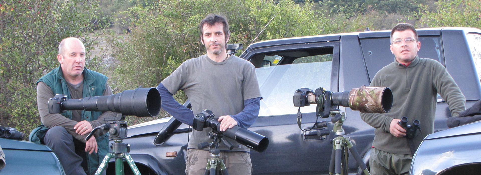 Ricardo Ruiz Díez · Alejandro Ruiz Díez · José María Ruiz Díez